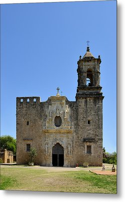 Mission San Jose Sa Metal Print by Christine Till