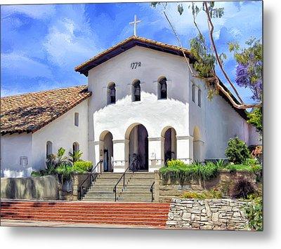 Mission San Luis Obispo De Tolosa Metal Print by Dominic Piperata