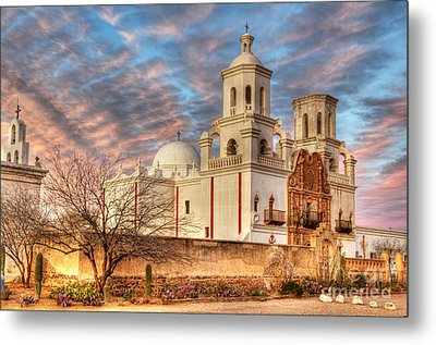 Mission San Xavier Del Bac 2 Metal Print