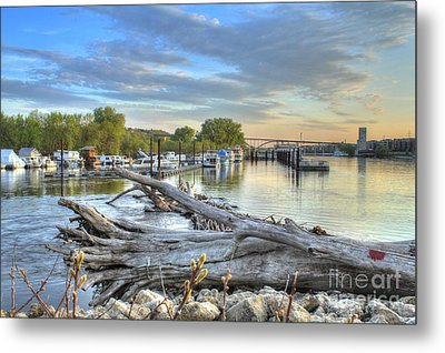 Mississippi Harbor 2 Metal Print by Jimmy Ostgard
