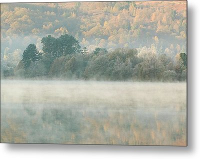 Mist Over Grasmere Metal Print by Ashley Cooper