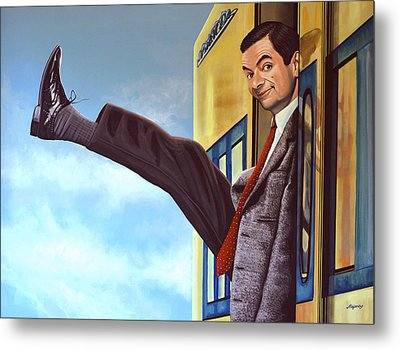 Mister Bean Metal Print by Paul Meijering