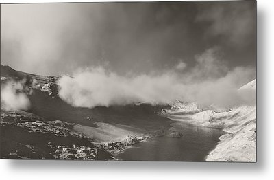 Mistic Mountain Metal Print by The Art of Marsha Charlebois