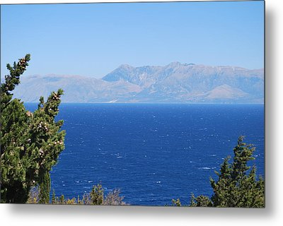 Metal Print featuring the photograph Mistral Wind by George Katechis