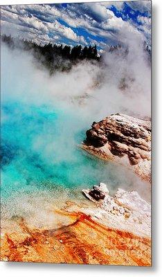 Mists Of Another World Metal Print by Lincoln Rogers