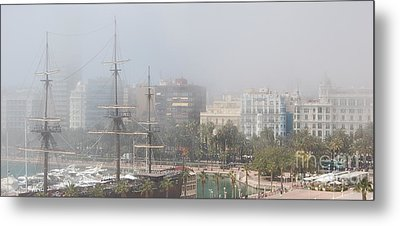 Misty Alicante Metal Print