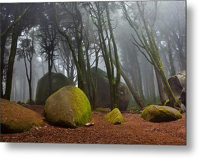 Misty Metal Print by Jorge Maia