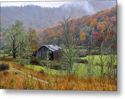 Misty Morn Metal Print by Kenny Francis