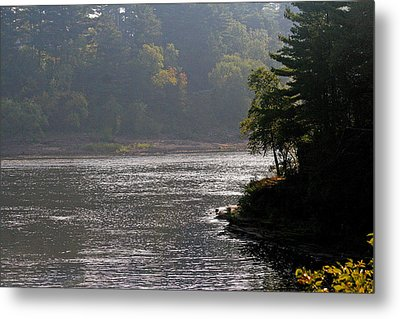 Metal Print featuring the photograph Misty Morning by Kay Novy