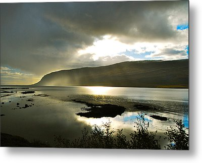 Misty Westfjords Metal Print by Bob Berwyn