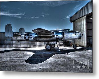 Mitchell B-25j Metal Print