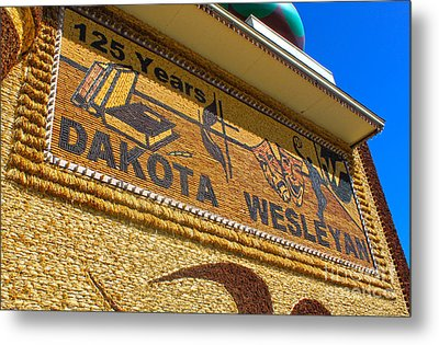 Mitchell Corn Palace - 04 Metal Print by Gregory Dyer