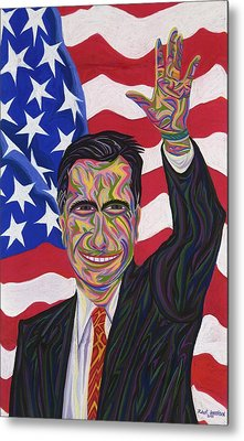 Mitt Romney Metal Print