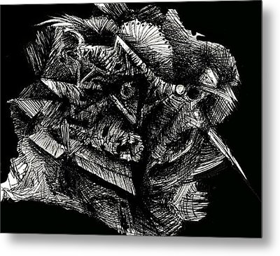 Mixed Emotion Metal Print by Michael Schomig