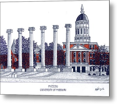 Mizzou - University Of Missouri Metal Print