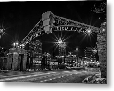 Mke Third Ward Metal Print