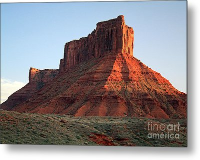 Metal Print featuring the photograph Moab At Sundown by Edward R Wisell