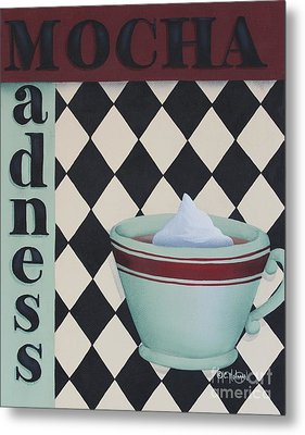 Mocha Madness Metal Print by Catherine Holman