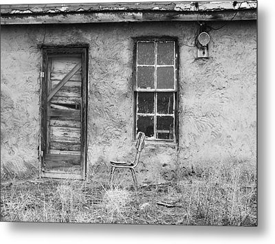 Model Ghost Town Metal Print by Anna Villarreal Garbis