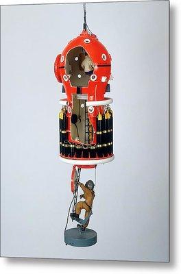 Model Of Submersible Metal Print by Dorling Kindersley/uig