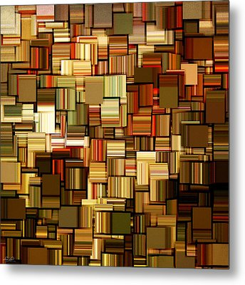 Modern Abstract Xxiii Metal Print by Lourry Legarde