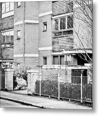 Modern Apartments Metal Print