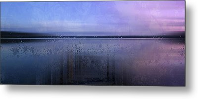 Modern-art Finland Beautiful Nature Metal Print by Melanie Viola