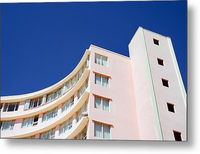 Metal Print featuring the photograph Modern Curves by Keith Armstrong