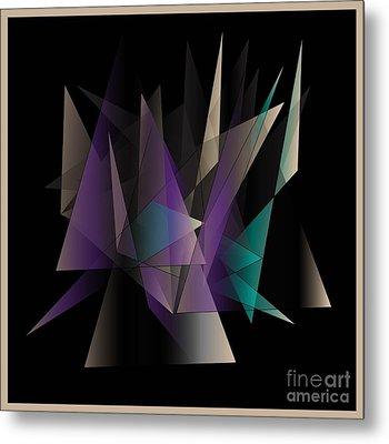 Modern Day Metal Print by Iris Gelbart