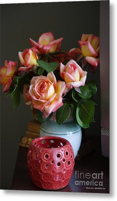 Metal Print featuring the photograph Modern Still Life by Tannis  Baldwin