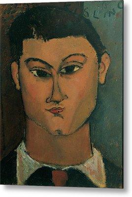 Modigliani Amedeo, Portrait Metal Print by Everett
