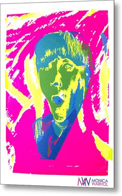 Moe Howard Metal Print