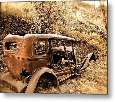 Mogollon Truck Metal Print by Kim Pippinger