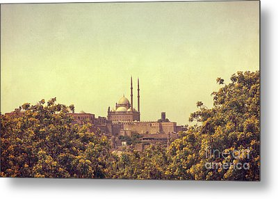 Metal Print featuring the photograph Mohamed Ali Mosque by Mohamed Elkhamisy