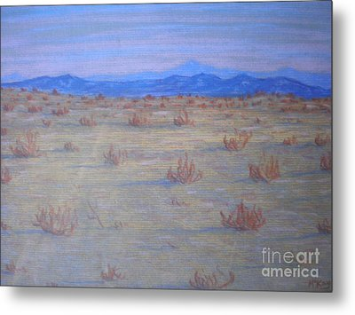 Metal Print featuring the painting Mojave Memories by Suzanne McKay