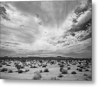 Mojave National Preserve Metal Print by Mike Herdering