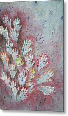 Mojo Praise Metal Print by Carrie Maurer