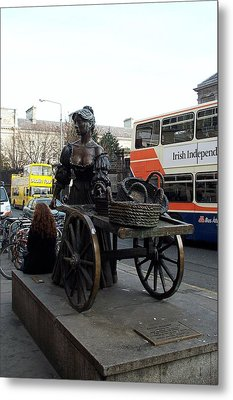 Metal Print featuring the photograph Molly Malone by Barbara McDevitt