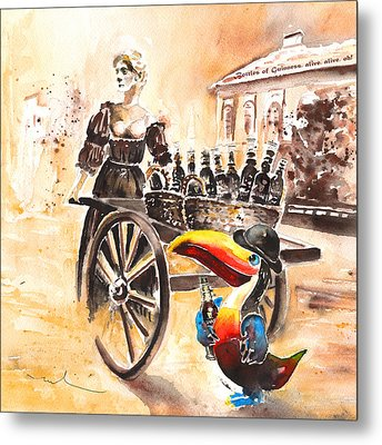 Molly Malone Metal Print by Miki De Goodaboom