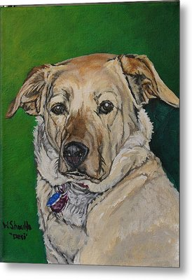 Metal Print featuring the painting Molly by Wendy Shoults