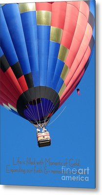 Moments Of Gold Metal Print by Bobbee Rickard