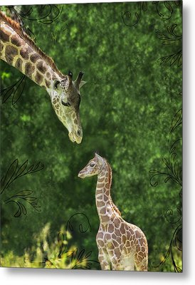 Momma Loves Me Metal Print by Marianne Campolongo