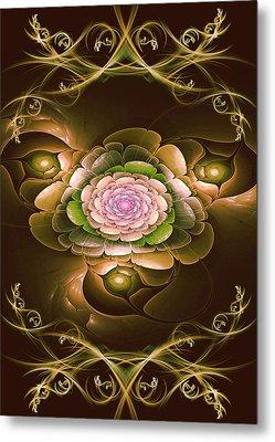 Mom's Flower Metal Print by Phil Clark
