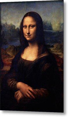 Metal Print featuring the painting Mona Lisa II by Karon Melillo DeVega