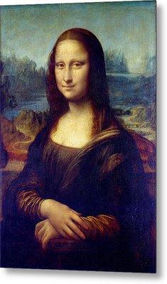 Metal Print featuring the painting Mona Lisa by Karon Melillo DeVega