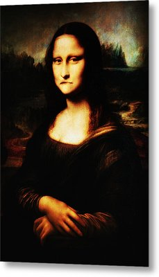 Mona Lisa Take One Metal Print by Bill Cannon