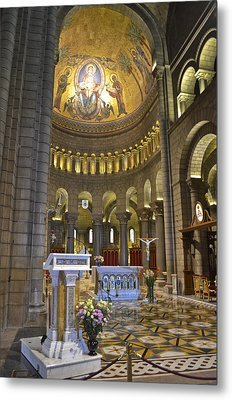 Metal Print featuring the photograph Monaco Cathedral by Allen Sheffield