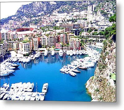 Metal Print featuring the photograph Monaco by Marwan Khoury