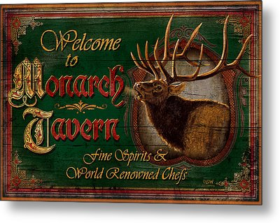 Monarch Tavern Metal Print