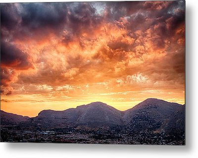 Mondello Sunset Metal Print by Viacheslav Savitskiy